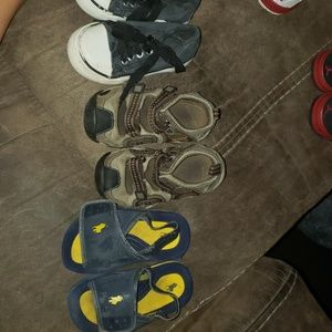 Other - 3 pairs toddler 6 shoes